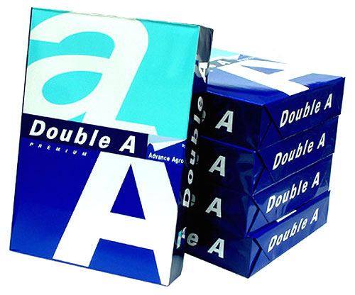 Double A 80g Paper (White)(5 ream)
